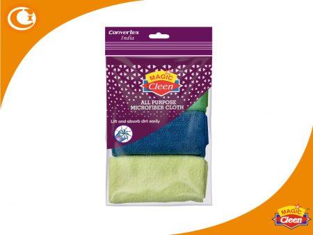 Microfiber Cloth : Duster 3 Pcs Magic Cleen
