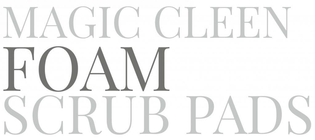 Foam Scrub Pads - Magic Cleen