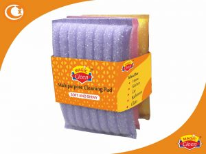 Shiny Scourer foam scrub pads Pack of 3 - Magic Cleen