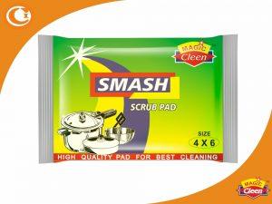 Green Scrub Pads 4 x 6 Size - Magic Cleen
