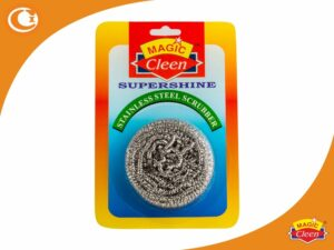 Magic Cleen Supershine Stainless Steel Scrubber